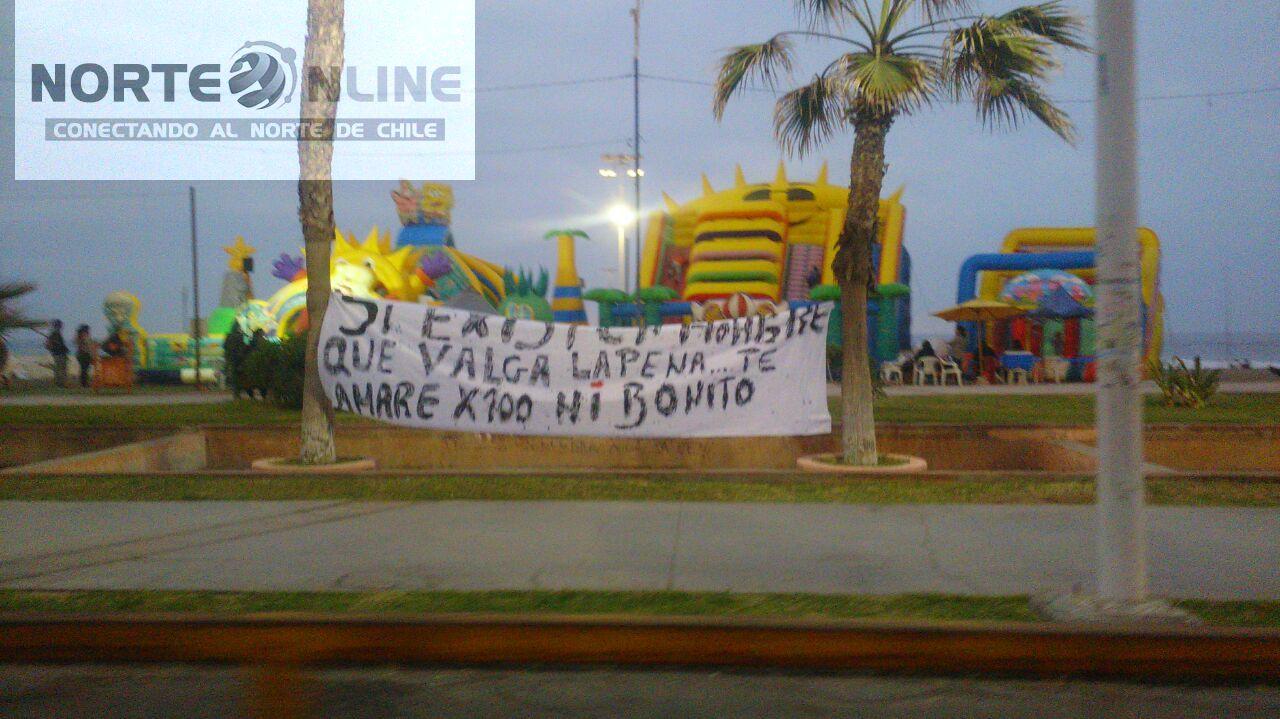 Photo of La particular declaración de amor de una iquiqueña