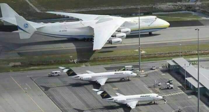 Photo of Se acabó la espera: El Antonov 225 llega esta madrugada a Iquique