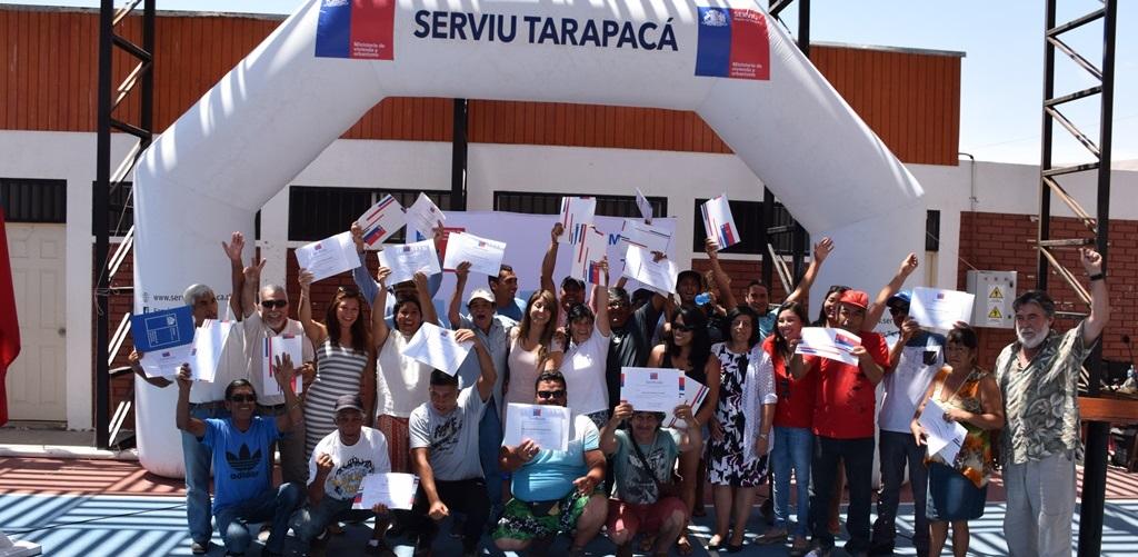 Photo of Familias de caleta San Marcos son las primeras en recibir subsidio de Habitabilidad Rural en la región