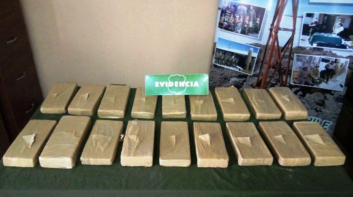 Photo of Hallan casi 14 kilos de droga abandonados en la banca de paradero