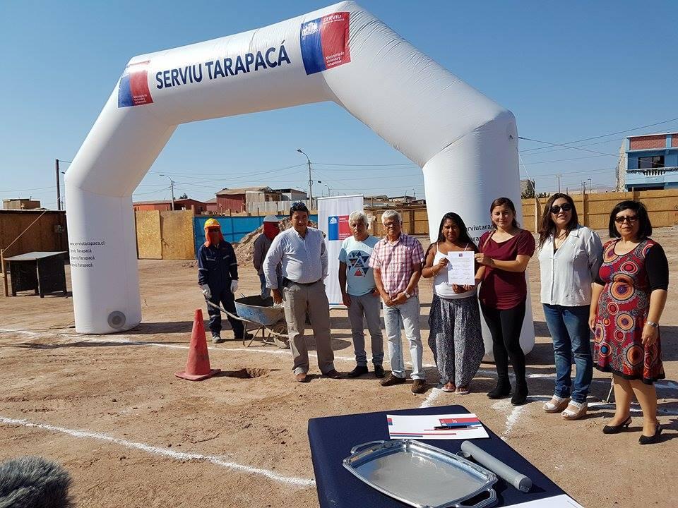 Photo of Familias de Alto Hospicio colocan primera piedra de sus futuros hogares