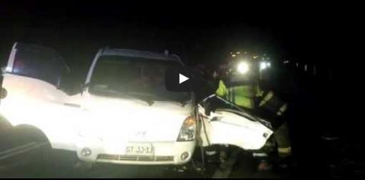 Photo of (VIDEO) Seis heridos en colisión frontal