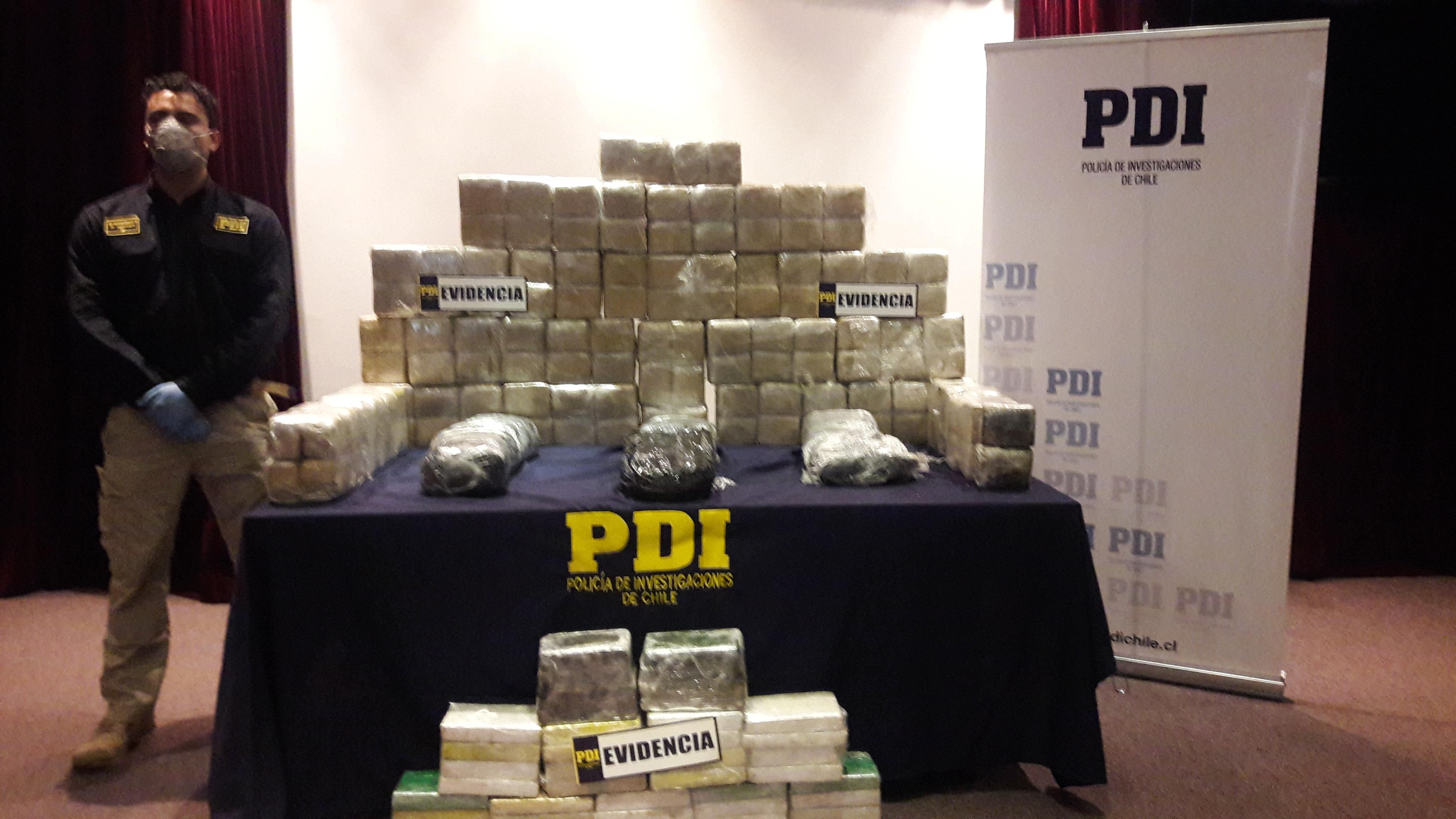 Photo of Alto Hospicio: Decomisan más de 5 mil millones de pesos en droga