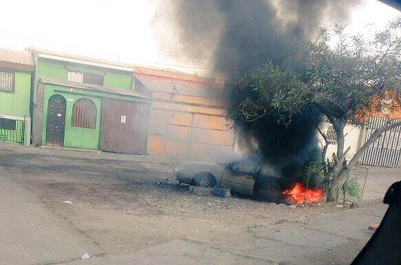 Photo of Está pasando: Bomberos concurre a incendio de automóvil en avenida Progreso