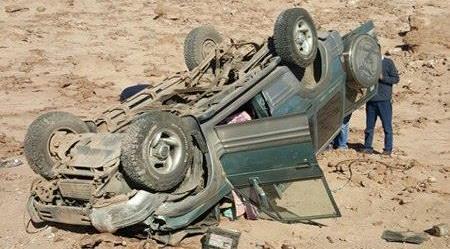 Photo of Está pasando: Un fallecido y tres heridos en volcamiento