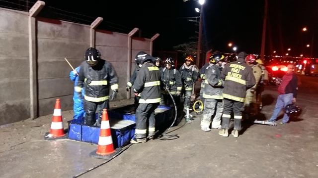 Photo of El millonario gasto de Bomberos en el incendio de la azufrera de Alto Hospicio