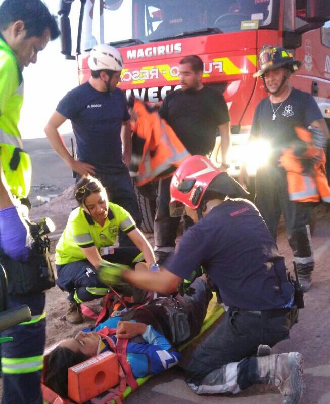 Photo of Caída de ciclista en Bajo Molle moviliza a Bomberos