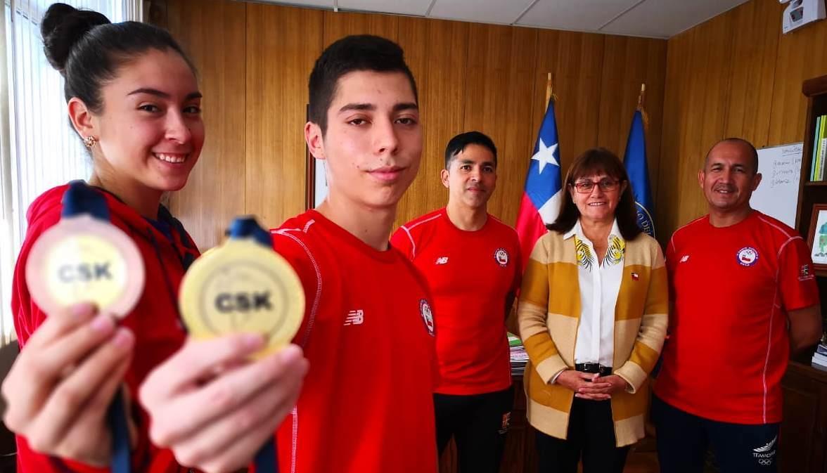 Photo of Gobierno Regional entregó reconocimiento a karatecas ariqueños