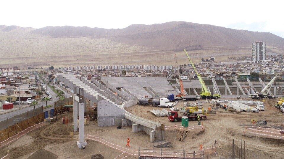 Photo of (Fotos) Así avanza la construcción del nuevo estadio Tierra de Campeones