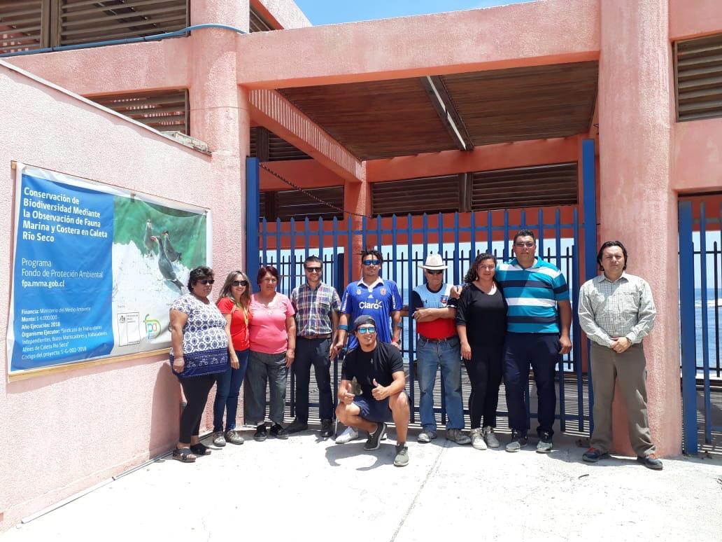 Photo of Buzos y mariscadores de Caleta Río Seco se capacitan enturismo vivencial