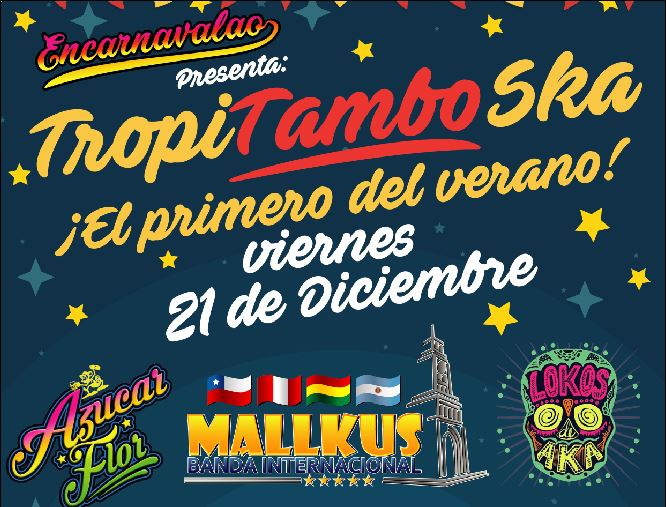 Photo of Iquique celebrará la llegada del verano con música tropical, tambo y ska